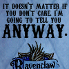 Megan: Ravenclaw