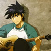 アニメ: Major - Goro guitar