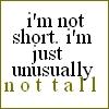 Not Tall