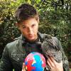 Jensen with rabbit