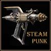 steampunk raygun