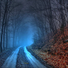 Halloween road by erised_dream
