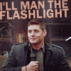 SPN ; Dean Flashlight