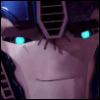 Smile, Optimus Prime, Face