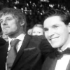 Stacey: Brolin Seated Smiling at Awards Show B&W