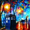 DW - impressionist TARDIS