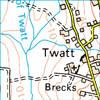 Twatt in the Shetland Islands