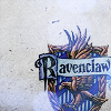 some kind of snark faery: ravenclaw (house shield)