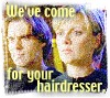 Tammy - never give up, never surrender: SG1 - Hairdresser - besyd