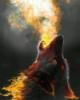 волк, огненный