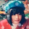 Kurako blue hat