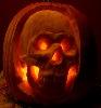 pumpkin skull jack-o-lantern (by Skull-A-Day)