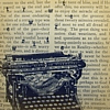 typewriter in front of page
