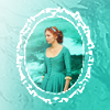 beccathegleek: Demelza - Pretty Framed (blue) - Poldark