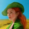 Demelza - Pretty in green - Poldark