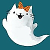 Halloween  Ghost Kitty