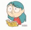 Хильда читает