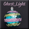 Ghost_Light Christmas Bulb