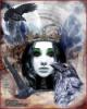 ведьма, королева, руны, кельтское, магия