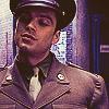 1940s Bucky in a suit