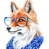 умный лис