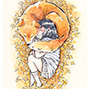 сонный лис