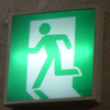 Japanese Exit Sign