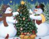Prim: Christmas--Flickering candle