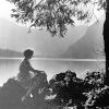 Mum - lake Bled