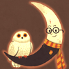 Birds: Owl (Moon)