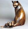 скульптура, животные