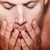 spn - dean hands face