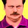 Ron - Not Amused - Parks and Rec