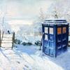 Dr Who Tardis Winter