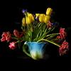 цветы, весна. радость