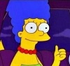 Marge thumbs up