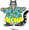 Kliban Aloha Cat