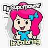 coloring is my superpower