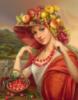 дары, бусы, плоды, Август