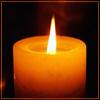 Lear's Fool: candle [merona]