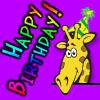 ReginaGiraffe: Raffe Birthday - Heuradys