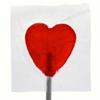 Red heart sucker