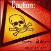 HP: Curtain of Death