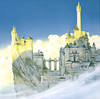 Minas Tirith - John Howe