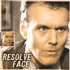 Giles resolve face