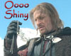 Sentimental yet sardonic: Boromir shiny