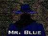 Gaunt Man: blue