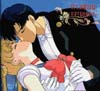 Sailor Moon and Darien kissing