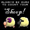 count your sheep