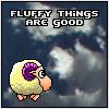 fluffy = good